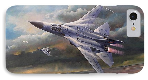 'end Of An Era' F111 Qld Final Flight IPhone Case by Colin Parker