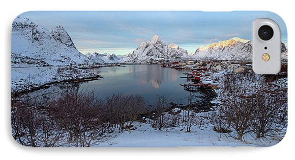 IPhone Case featuring the photograph End Of Day, Reine, Lofoten,  by Dubi Roman