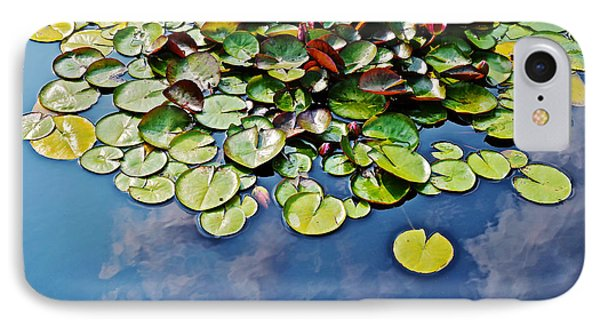 End Of July Water Lilies In The Clouds IPhone Case