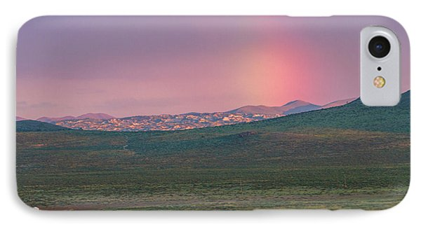 IPhone Case featuring the photograph End Of Rainbow by Hitendra SINKAR