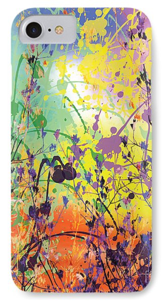 IPhone Case featuring the digital art End Of Summer 2015 by Trilby Cole