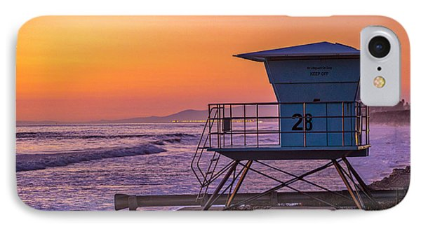 End Of Summer IPhone Case by Peter Tellone