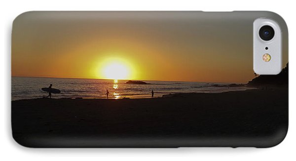 End Of The Day IPhone Case by Charles Ables