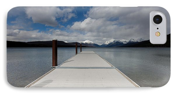 End Of The Dock IPhone Case by Fran Riley