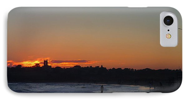 End Of The Island Day. IPhone Case by Robert Nickologianis