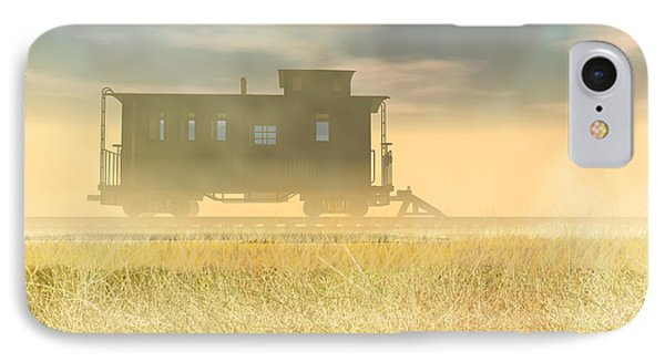 End Of The Line II IPhone Case by Carol and Mike Werner