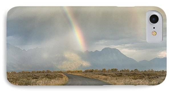 End Of The Rainbow Phone Case by Sandra Bronstein