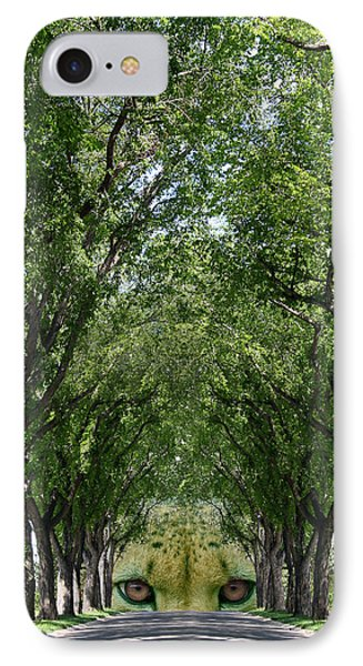End Of The Road Phone Case by Stan Kwong
