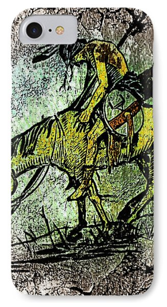 End Of The Trail 2 IPhone Case by Ayasha Loya
