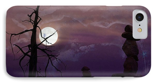 End Of Trail IPhone Case by Ed Hall