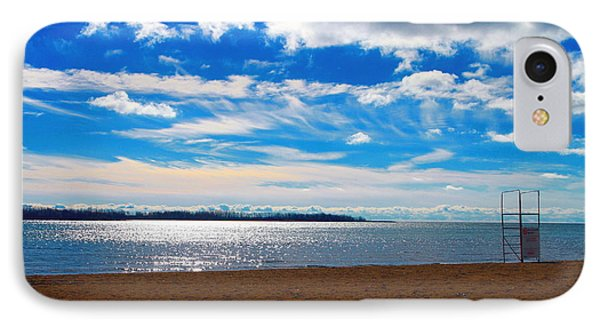 IPhone Case featuring the photograph Endless Sky by Valentino Visentini