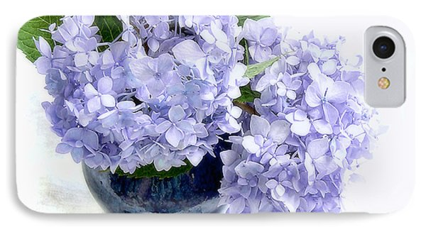 IPhone Case featuring the photograph Endless Summer Hydrangea Still Life by Louise Kumpf