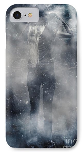 Energy Combustion In Thought Creation IPhone Case by Jorgo Photography - Wall Art Gallery