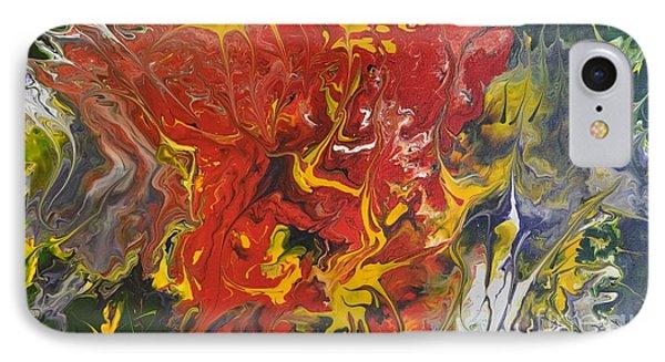 Energy Of Creation Phone Case by Georgeta  Blanaru