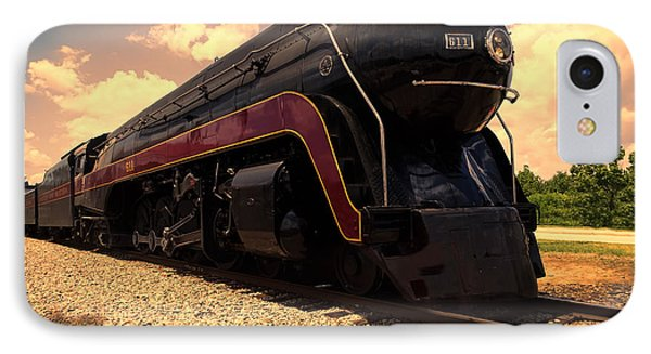 Engine #611 In Ole Town Petersburg Virginia IPhone Case by Melissa Messick