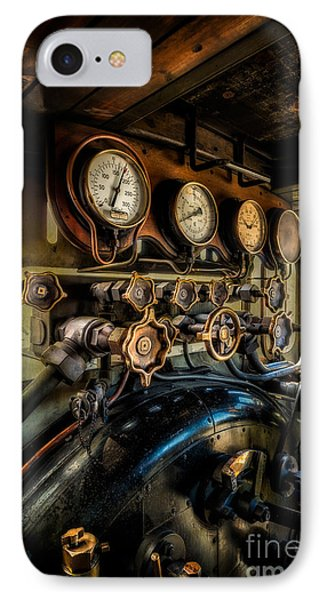 Engine Room IPhone Case by Adrian Evans