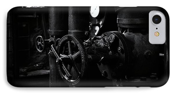 IPhone Case featuring the photograph Engine Room by Tim Nichols