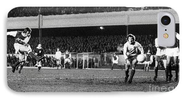 England: Soccer Game, 1972 Phone Case by Granger