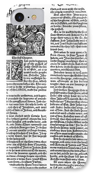 English Bible, 1535 Phone Case by Granger