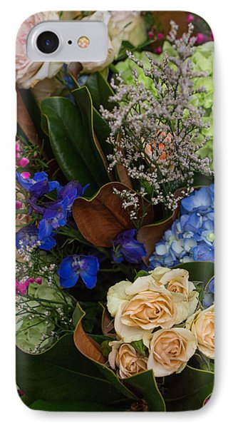 IPhone Case featuring the photograph English Bouquet by Julie Andel