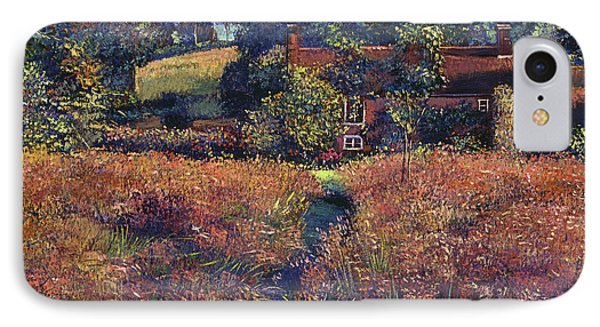English Country Fields IPhone Case by David Lloyd Glover