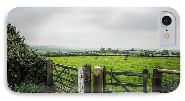 English Country Landscape 1 IPhone Case