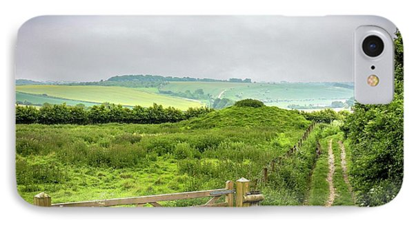 English Country Landscape 2 IPhone Case