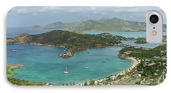 English Harbour Antigua Phone Case by John Edwards