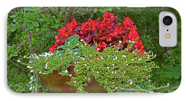 Enjoy The Garden IPhone Case by Ray Shrewsberry