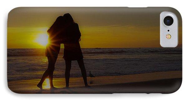 Enjoying The Sunset IPhone Case by Ernie Echols