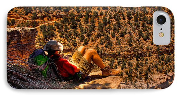 Enjoying The View Phone Case by David Patterson