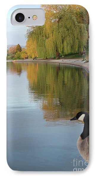 Enjoying The View IPhone Case by Wilko Van de Kamp