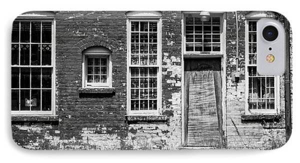 IPhone Case featuring the photograph Enough Windows - Bw by Christopher Holmes