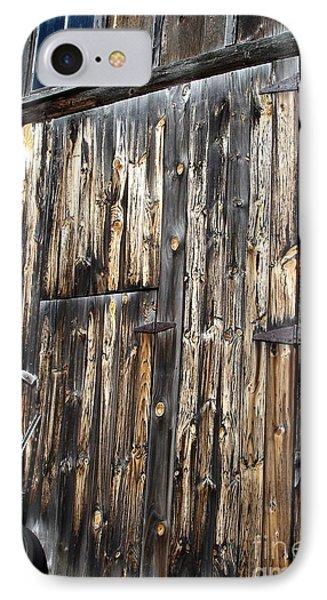 Enter The Barn IPhone Case by Kerri Mortenson