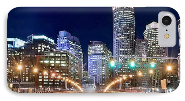 Entering Boston IPhone Case by Frozen in Time Fine Art Photography