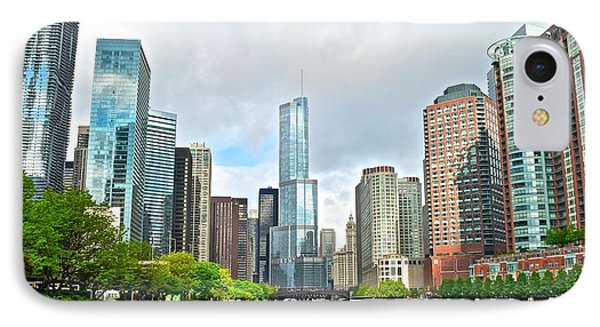 Entering Chicago IPhone Case by Frozen in Time Fine Art Photography