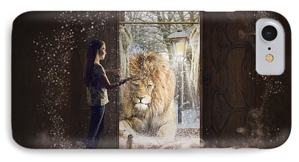 Entering Narnia IPhone Case by Imelda Bell
