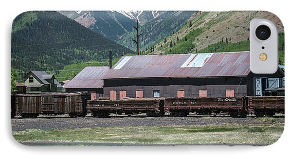 IPhone Case featuring the photograph Entering Silverton by Colleen Coccia
