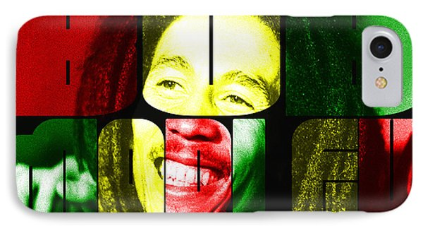 Bob Marley IPhone Case by Christos Koudellaris