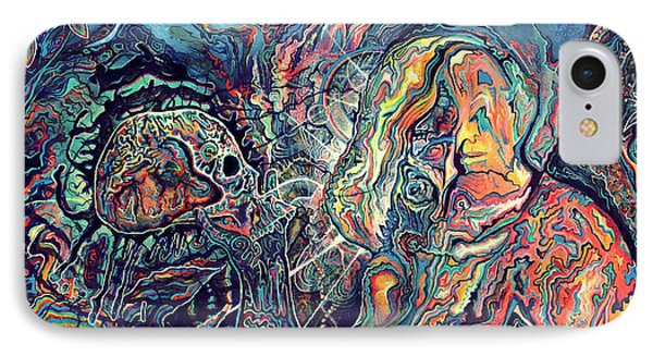 Entheogenic Evolution IPhone Case by Steve Griffith