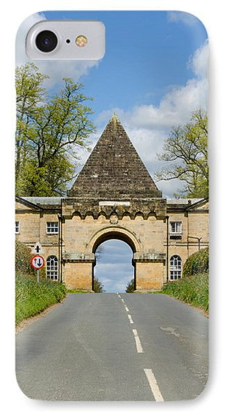 Entrance To Burghley House IPhone Case