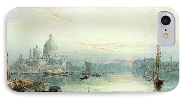 Entrance To The Grand Canal, Venice IPhone Case by Myles Birket Foster