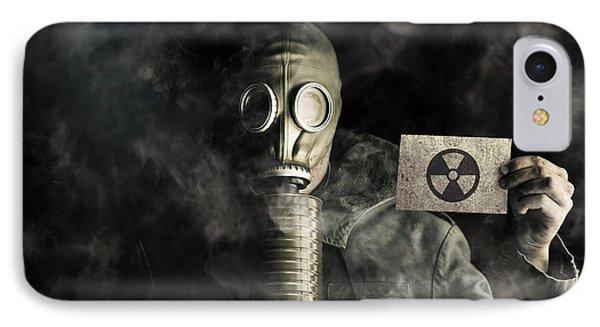 Environmental Pollution Concept IPhone Case