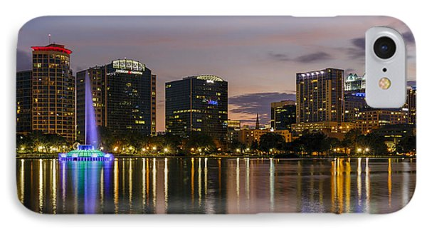 Eola Evening IPhone Case by Mike Lang