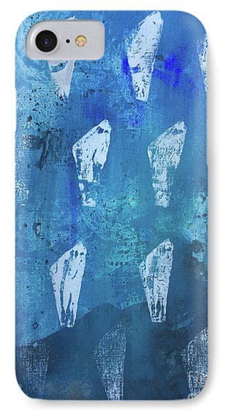 IPhone Case featuring the painting Eolith II by Robin Maria Pedrero