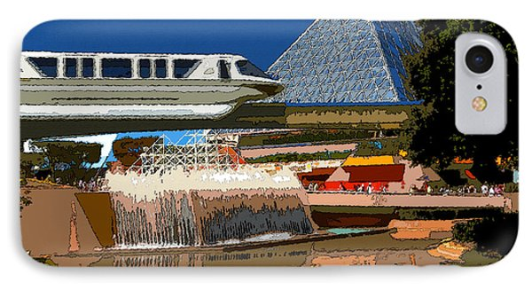Epcot Scenic Phone Case by David Lee Thompson