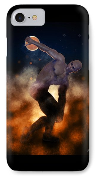 Epic Discobolus Of Africa IPhone Case by Joaquin Abella