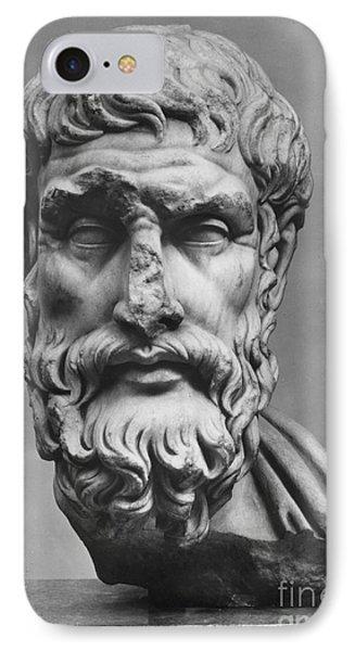 Epicurus (342?-270 B.c.) IPhone Case by Granger