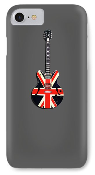 Epiphone Union Jack IPhone Case by Mark Rogan