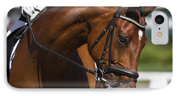 Equestrian At Work IPhone Case by Wes and Dotty Weber